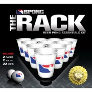 BPONG Rack Kit – 2 Thin Racks + 22 Cups + 2 Balls