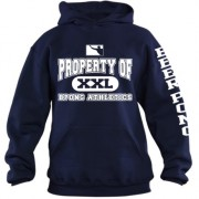 Property of BPONG Athletics Hoodie - Navy 1