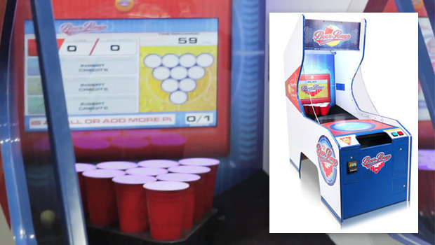 Beer Pong Hits the Arcade
