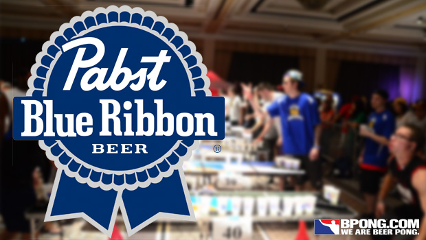 Pabst Blue Ribbon: Official Beer of the Masters of Beer Pong