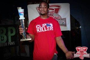 2015 Indiana State Beer Pong Championships Singles Champion: Gian Sutton