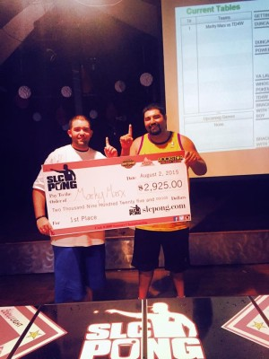 SLC Pong's $5k Main Event Winners